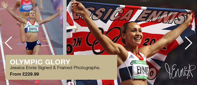 Signed Jessica Ennis photos