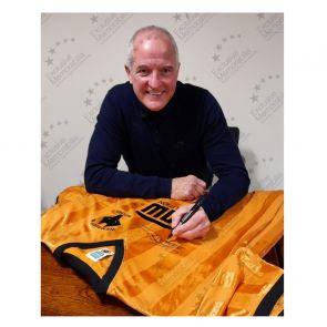 Steve Bull Signed Wolves 1988 Shirt. In Gift Box