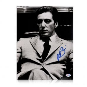 Al Pacino signed Godfather photo
