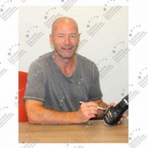 Alan Shearer Signed Football Boot