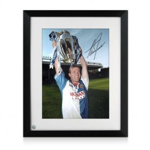 Alan Shearer Signed And Framed Blackburn Rovers Photo: Champions!