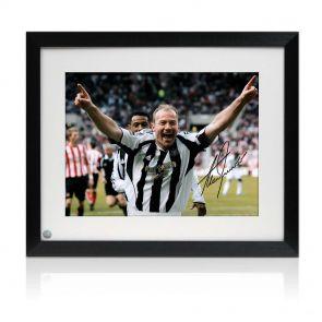 Alan Shearer Signed And Framed Newcastle United Photo: Sunderland Penalty