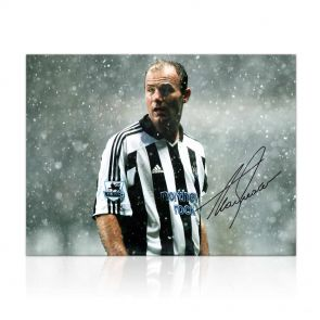 Alan Shearer Signed Newcastle United Photo: Toon Legend
