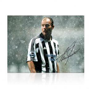 Alan Shearer Signed Newcastle United Photo: Toon Legend. In Gift Box