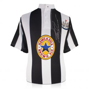 Alan Shearer Front Signed Newcastle 1996 Shirt