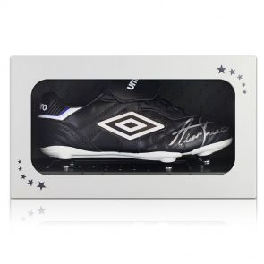 Alan Shearer Signed Football Boot In Gift Box