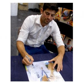Sir Alastair Cook Signed Cricket Photo: Ashes Winner