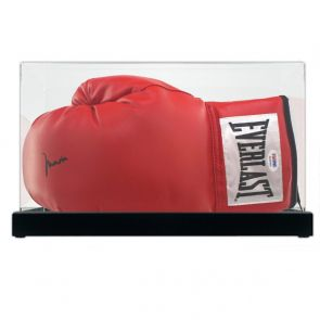 Muhammad Ali Signed Boxing Glove (PSA DNA 3A96850) In Display Case