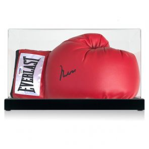 Muhammad Ali Signed Boxing Glove (PSA DNA 3A96849) In Display Case