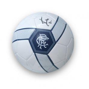 Ally McCoist Signed Rangers Football