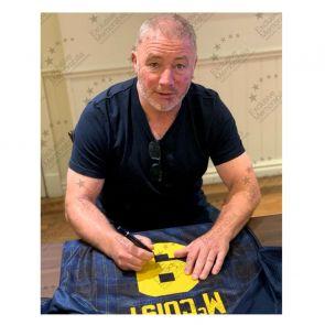 Ally McCoist Signed Scotland Euro 1996 Shirt. In Gift Box
