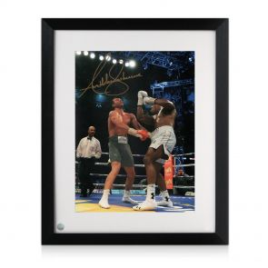 Framed Anthony Joshua Signed Photo
