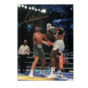 Anthony Joshua Signed Photo: The Klitschko Uppercut In Gift Box