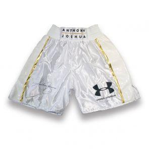 Anthony Joshua Signed Boxing Shorts
