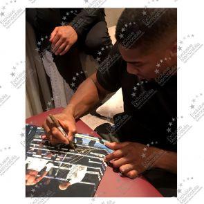 Anthony Joshua Signed Photo: The Ali Pose