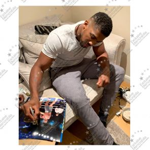 Anthony Joshua Signed Boxing Photo: The Klitschko Uppercut