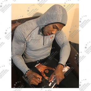 Anthony Joshua Signed Photo: IBF World Champion