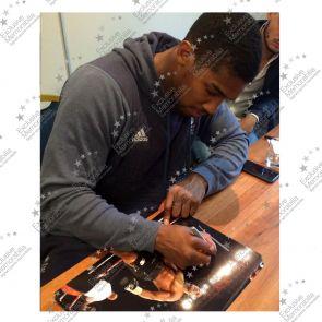 Anthony Joshua Signed Boxing Photograph