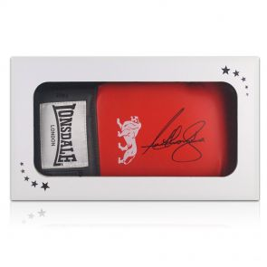 Signed Anthony Joshua Boxing Glove In Gift Box
