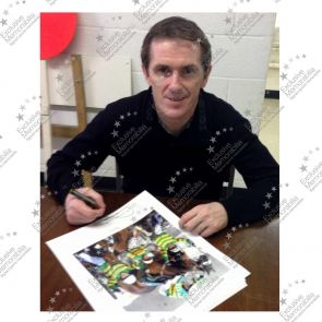 Framed AP McCoy Signed Horse Racing Photo: 4000 Winners