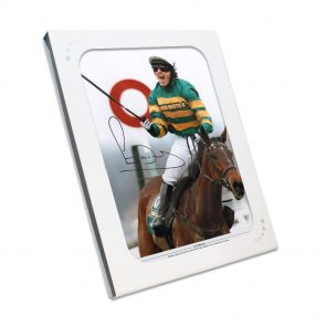 AP McCoy signed horse racing photo In Gift Box