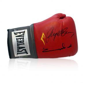 Signed Eubank Benn Glove