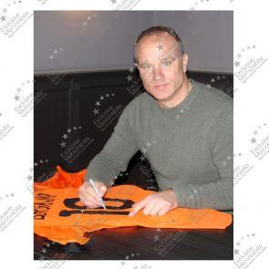 Dennis Bergkamp Signed Holland Football Shirt 2000-02