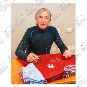 Billy Bonds Signed West Ham Shirt. 1975 FA Cup Final . In Gift Box