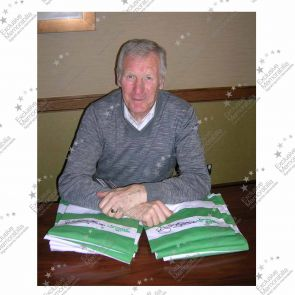 Deluxe Framed Billy McNeill Signed Lisbon Lions Celtic Football Shirt With Silver Inlay