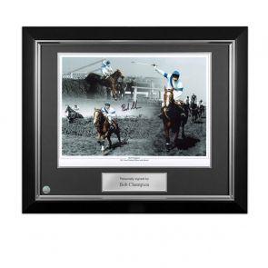 Framed Bob Champion Signed Photo