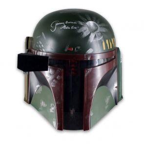 Boba Fett Signed Helmet - Damaged Stock