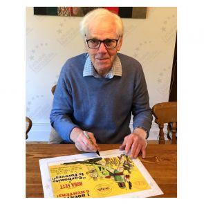Boba Fett Signed Carbonite Is Forever Poster Framed