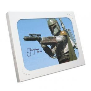 Boba Fett Signed Star Wars Photo: The Most Feared In Gift Box