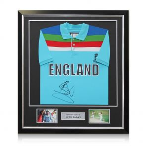 Ian Botham signed England shirt