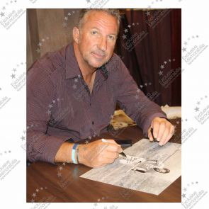 Sir Ian Botham Signed Cricket Photograph: Ashes Hero. In Gift Box