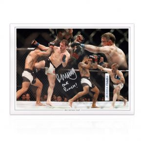 Brad Pickett Signed UFC Montage