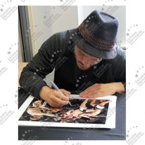 Brad Pickett Signed UFC Montage. Deluxe Frame