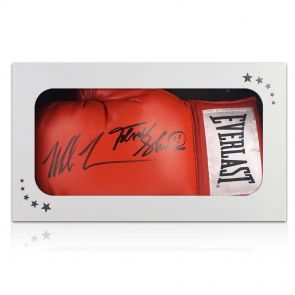 Mike Tyson Frank Bruno Signed Glove In Gift Box