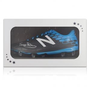 Bryan Robson Signed Football Boot In Gift Box