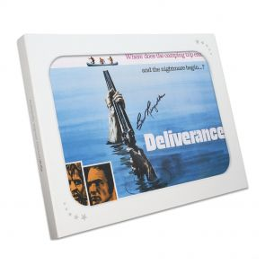 Burt Reynolds Signed Deliverance Poster Gift Box