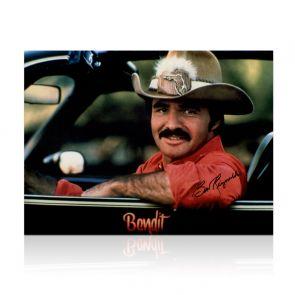 Burt Reynolds Signed Smokey And The Bandit Photo