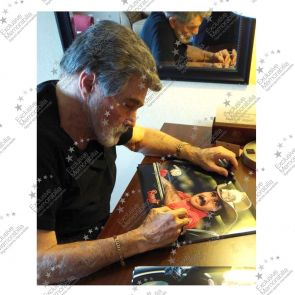 Burt Reynolds Signed Smokey And The Bandit Photo - Damaged Stock