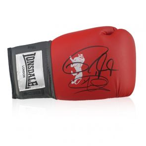 Joe Calzaghe And Roy Jones Jr Signed Boxing Glove