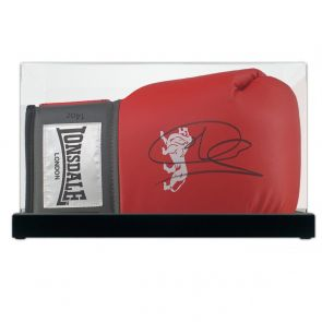 Joe Calzaghe Signed Boxing Glove In Display Case