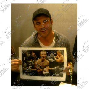 Joe Calzaghe Signed 'Undefeated' 46-0 Boxing Photo