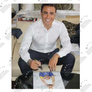 Standard Framed Fabio Cannavaro Signed Photo: Lifting The 2006 World Cup For Italy