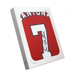 Eric Cantona Signed Manchester United Shirt In Gift Box