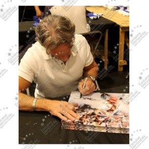 Carl Fogarty Signed Superbikes Photo In Gift Box