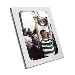 Billy McNeill Signed Celtic Photo: Lifting The European Cup, In Gift Box