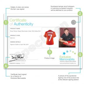 Bryan Robson Signed Manchester United 1984 Shirt